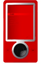 Zune - rot (watermelon red)